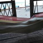Vista amaca e mare dalla cabannas