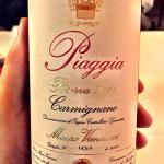 Vinho sugerido Piaggia 2011