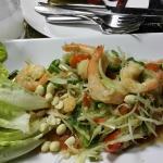 King prawn papaya salad