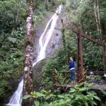Cascada, lugar en el que me sentí en especial cercano a Dios y sus creaciones, super romántico.