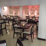 Elegant restaurant interior