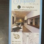 Folleto Hostal Hispano