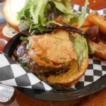 The City of New Orleans burger