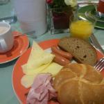 breakfast very good!