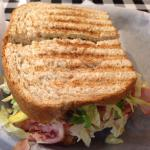 All-American grilled sandwich