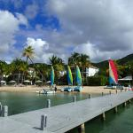 Beach and the water sport facilities