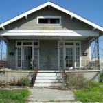 Empty house after Katrina