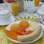 frutas en el desayuno