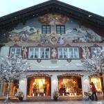 maison peinte à Garmisch