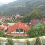 Vista desde el frente desde la ventana de la Cabaña