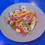 Calamari in Greek Butter Sauce