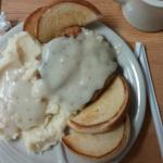 Chicken Fried Steak and Mashed Potatoes
