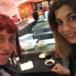 Enjoying sushi :)