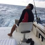 Terminando la pelea con una barracuda
