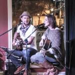 The Karla Crawford Duo playing in the Huron Club lounge