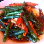 Garlic Green Beans (Yum!!) - spicy!