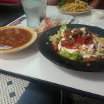 Chili and Taco Salad at Steak 'n Shake Plainfield