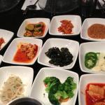 Korean appetizers - pickled veggies
