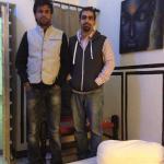 Amit Chodbar on the left
