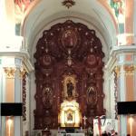 Nave y retablo principal de San Jaime