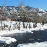 Steamboat Ski area from the Yampa River