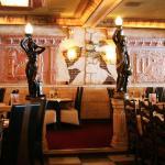 La sala del ristorante greco