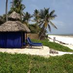 bungalow på stranden