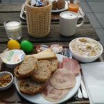 La mia super colazione. Non manca nulla!