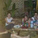 Gemütliches Abendessen bei Nana's