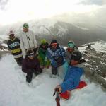 Amigos disfrutando del invierno, Cerro Catedral a 15minutos del complejo