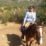 Me...on a horse!