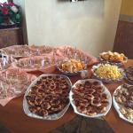 Parte di un buffet