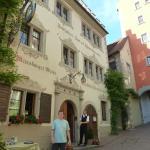 Outside of Hotel Baeren Meersburg