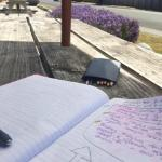 taking time out to write