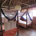 Upstairs room with 2 bunk beds