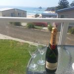 A Champagne View from Ace 4 front deck