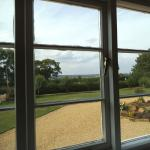 view from room at front of house towards Rutland Water