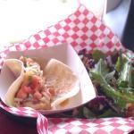 Shrimp tacos - yum!