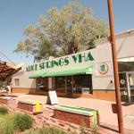 Front of Alice Springs YHA