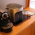 Hot water dispenser and Nespresso