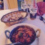 Chicken Karahi with keema naan