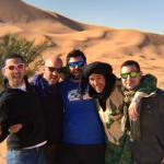 Amanecer en el Campamento de Jaimas en Merzouga