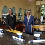 The cooks in the Tamarind Sushi Bar