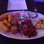 Always delisious loads of starters to choose from and cheap x