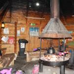 In the Hut