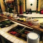 Salat Buffet für Hotel Gäste