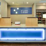 Holiday Inn Express Front Desk & Market Place