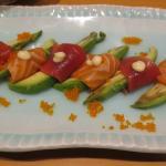 Appetizer (Avocado with Tuna/Salmon)