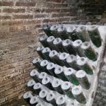 Botellas en la cava antigua...