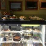 Our refrigerated case of goodies!!!